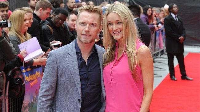 Ronan Keating and new wife Storm.