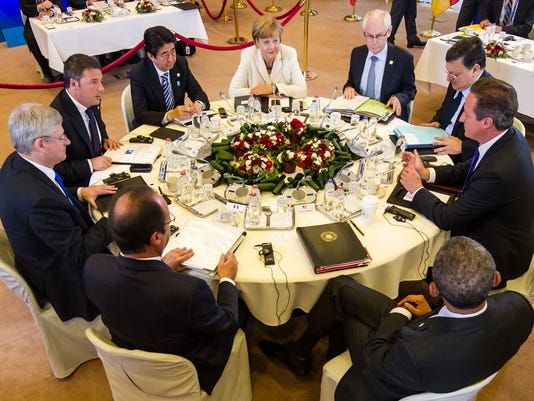 Obama, G-7 colleagues issue new list of demands to Putin