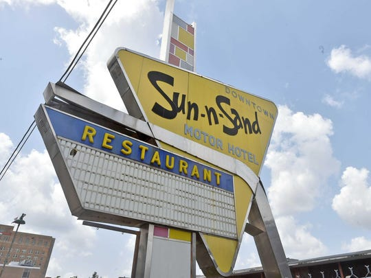 Trustees for the Mississippi Department of Archives and History have put downtown Jackson's Sun-N-Sand Motor Hotel on consideration for a state landmark designation to save it from being demolished.