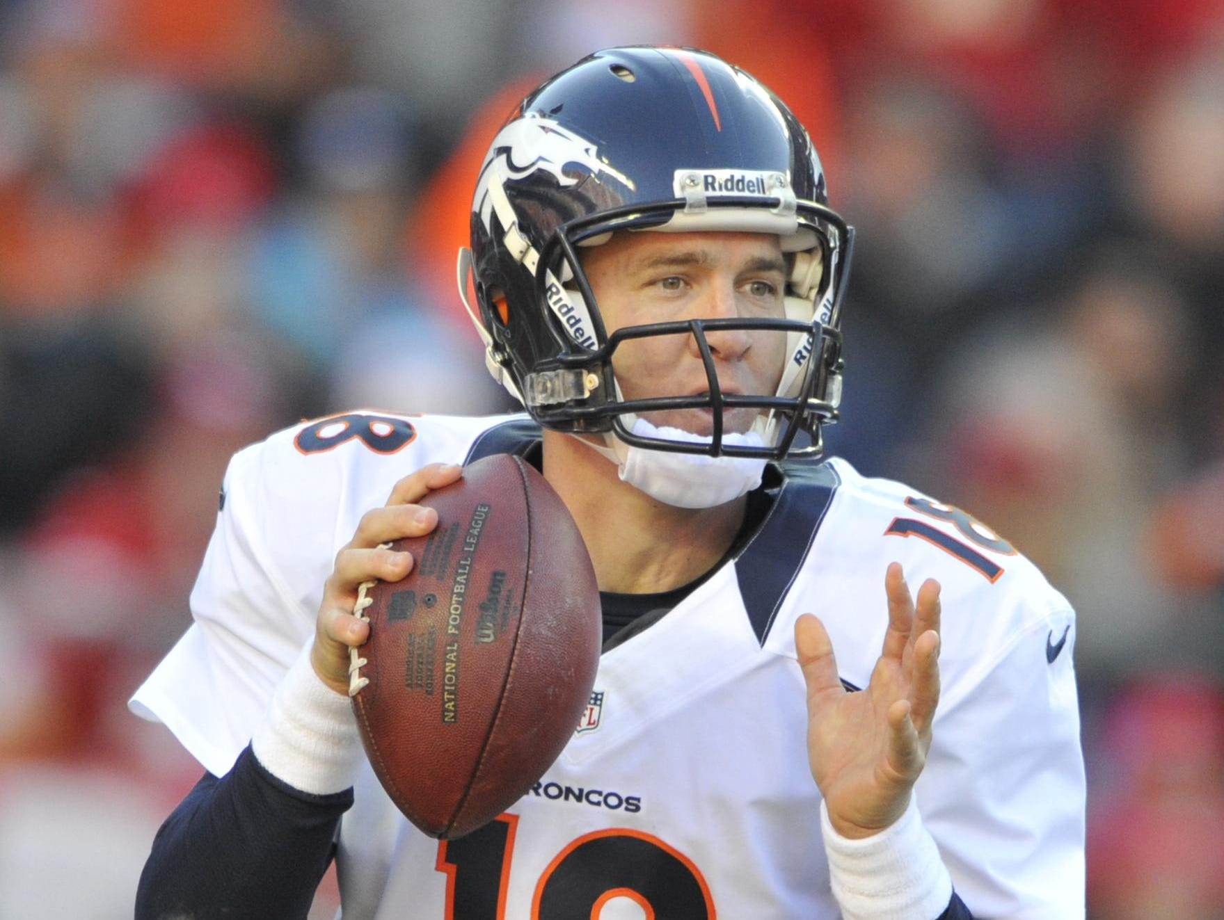Denver Broncos quarterback Peyton Manning will be part of a high school sports banquet in Northern Colorado in May.