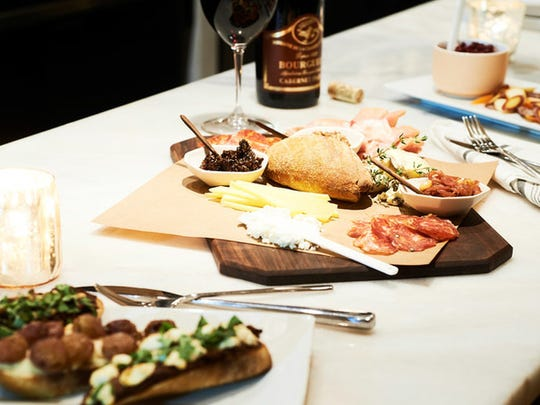 Build your own boards of goodness at Bar Luca.