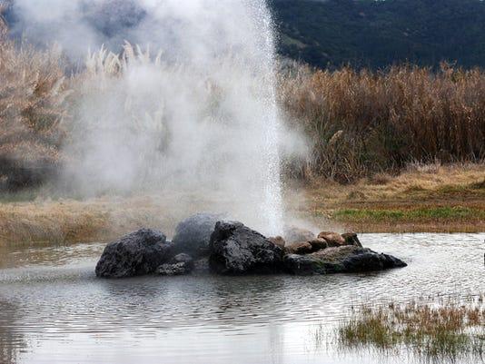 Geyser Eruption
