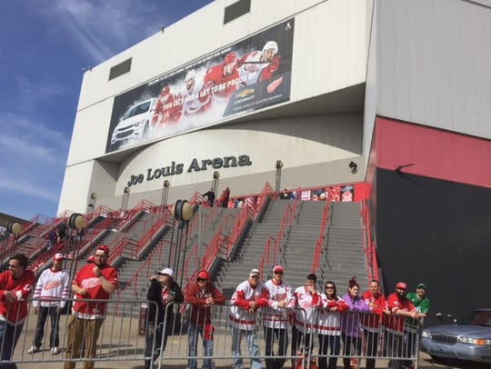 It's a day to be remembered for Red Wings fans, who