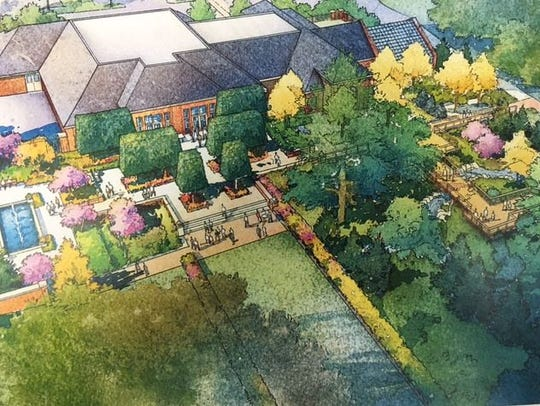 This is a rendering of the proposed Kingwood Garden