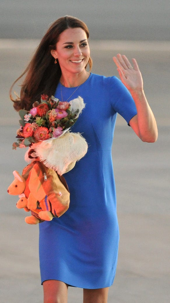 Duchess Kate in Canberra