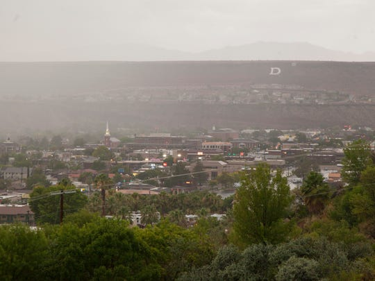 St. George visitors and residents should expect a little less sun as the forecast calls for cloudy days — and maybe a little bit of rain — for the next week.