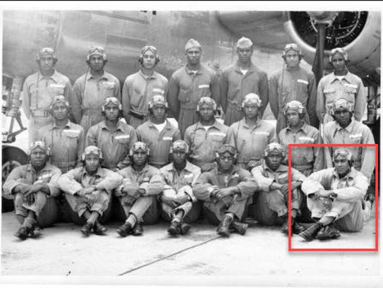 Tuskegee Airman Roscoe C. Perkins will be honored for