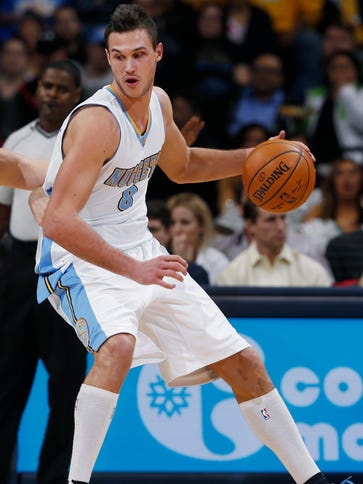 Denver Nuggets forward Danilo Gallinari is out indefinitely