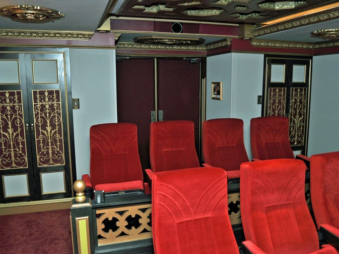 Who will get the Oscar for Best Picture on March 2? This theater in the home at 2208 Trowbridge HIgh St., Carmel, offers optimal big screen viewing.