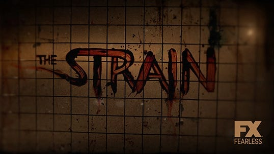 FX has picked up 13 episodes of 'The Strain,' which is based on a best-selling vampire novel trilogy.