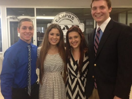 "Viera High students recently won top honors in the Junior Achievement ""Be Entrepreneurial Business Plan Challenge."""
