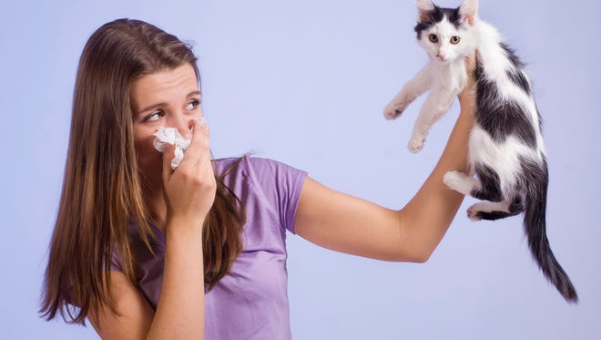 Allergic reactions to pets can be mild to severe.