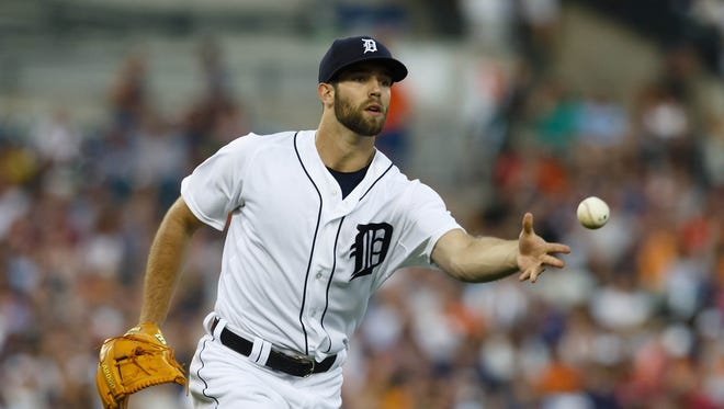 Tigers left-handed pitcher Daniel Norris.