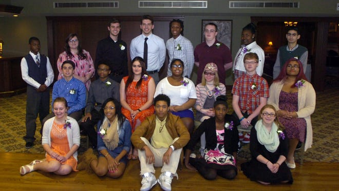 Middle- and high-school students were honored as Turn Around winners Tuesday.