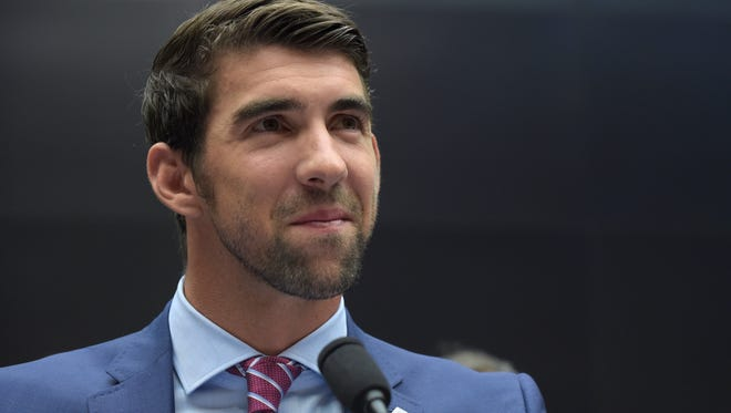 In February, Olympic swimmer Michael Phelps testified on Capitol Hill in Washington before the House Commerce Energy and Commerce subcommittee hearing on the international anti-doping system.