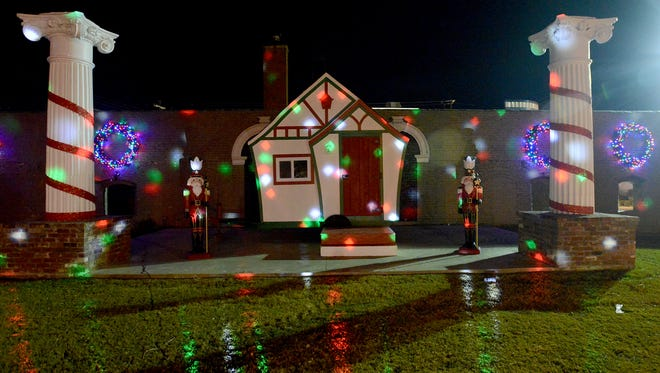 The Santa House is located next to The Suites of Larue on E. Lafayette.