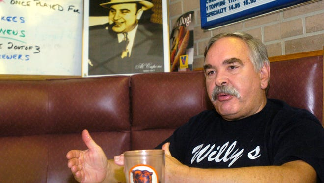 Bill DeVivo talks while sitting in his restaurant Willy's, 2300 Strongs Ave., just before it closed in 2007. DeVivo passed away Feb. 19, 2017 at the age of 67.