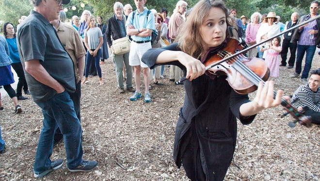 Events like the Ojai Music Festival bring tourists to the Ojai Valley area where the issue of short-term rentals has divided the community.