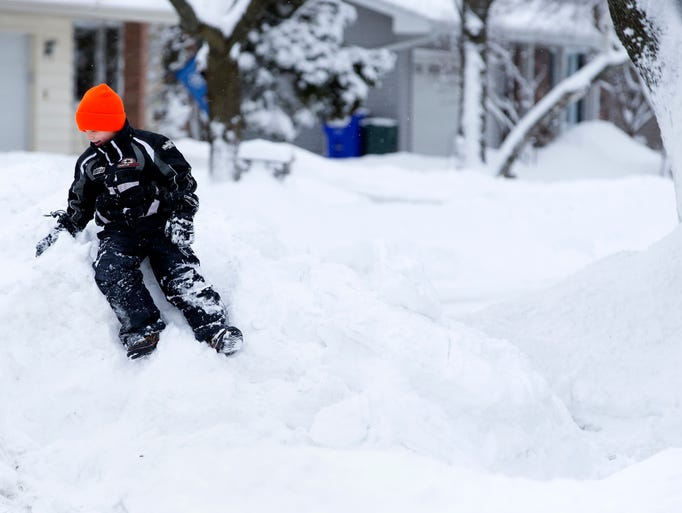 snow cleanup in the fox valley