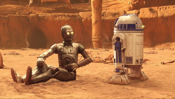 C-3PO and R2-D2 have a love/hate relationship. Here's