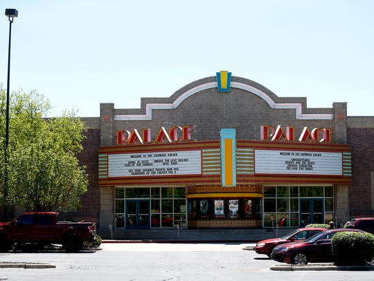 The Palace movie theater on Thursday, April 27, 2017.