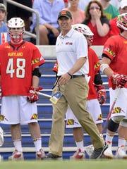 Maryland head coach John Tillman, a Corning West graduate,