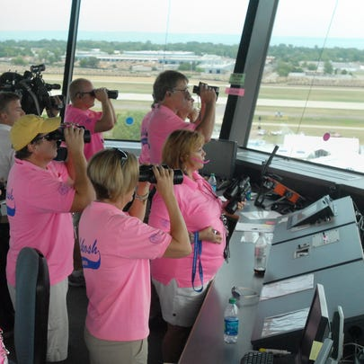 Air traffic controllers, spotters and other volunteers