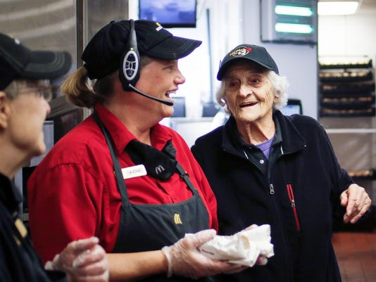 Exchange Grandma Mcdonald's