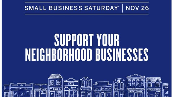 The Small Business Administration is encouraging consumers to shop local during Small Business Saturday on Nov. 26.
