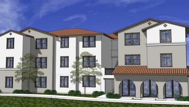Built in Oceanside Calif., Villa Storia is a 38-unit complex offering more affordable rents.