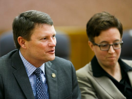 House Republican Leader Mike McLane, R-Powell Butte,