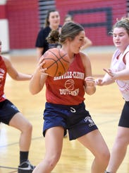 Senior Chloe Inman is one of Annville-Cleona's most