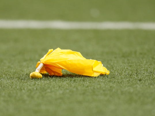 Football Flags Penalty Penalty Yellow Flag Football
