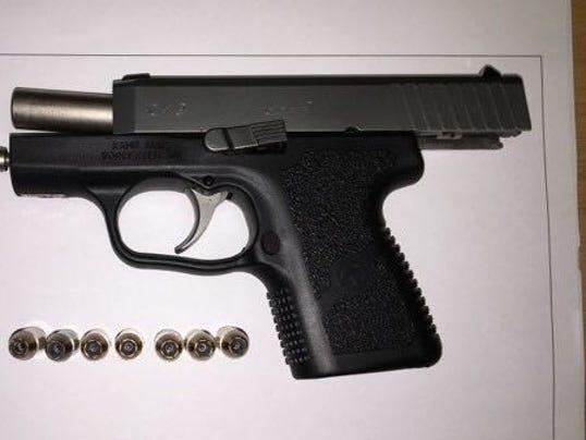 Gun found at airport