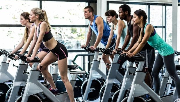 If you're planning to work a spin class into your fitness routine, be sure to start slowly to avoid potential health complications.
