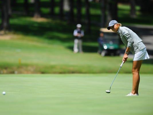 NCAA WOMENS GOLF:  MAY 06 2016 NCAA Women's Golf Regional - Day Two