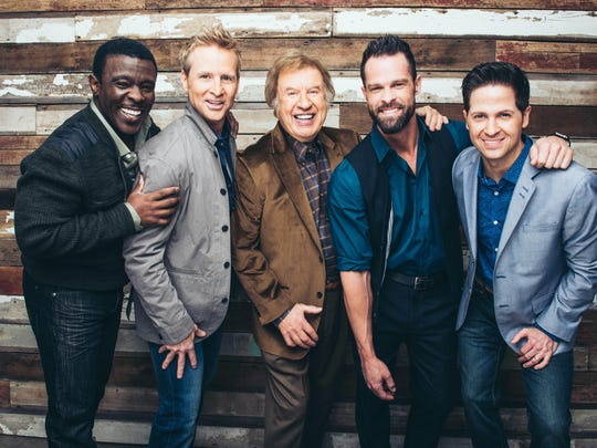 The Gaither Vocal Band, with founder Bill Gaither in