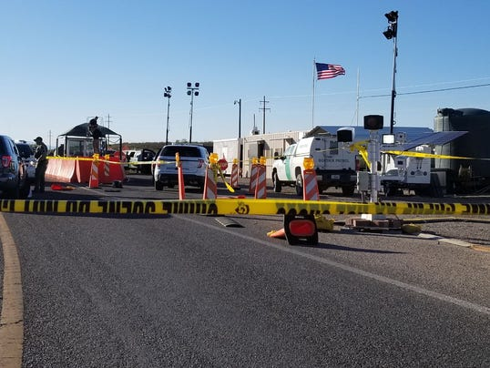 Border Patrol checkpoint north of Tombstone