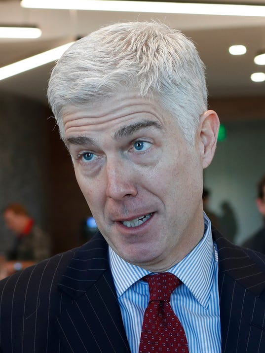 AP NEIL GORSUCH A USA CO