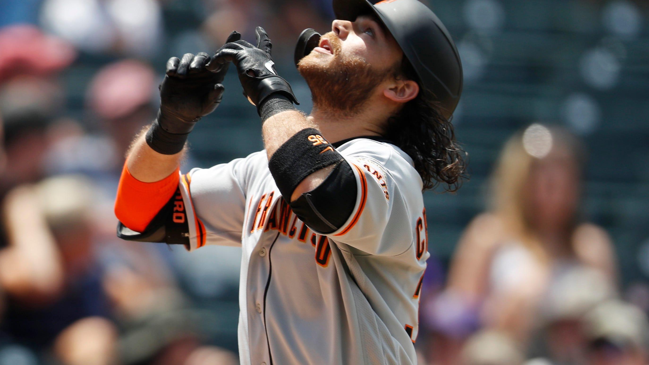 Brandon Crawford San Francisco Giants Baseball Player Jersey