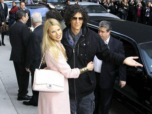 Howard Stern with wife Beth