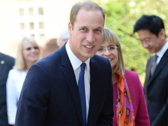 Prince William in Oxford