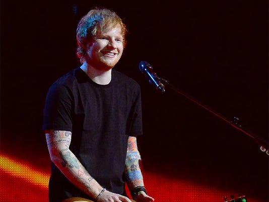 Ed Sheeran (c) Jon Furniss / Corbis