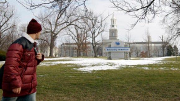 University of Buffalo campus is Buffalo, N.Y.(AP Photo/David Duprey)