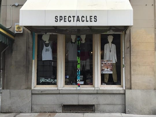 Spectacles, a small shop on Grand River in Detroit, may be forced to move after the building it  is in was sold.