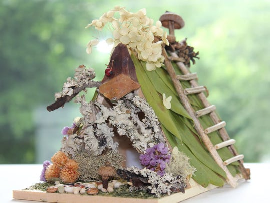 Build your own fairy house Saturday