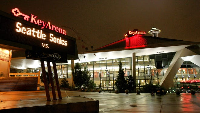 The city of Seattle says it will consider a tear-down and rebuild of KeyArena as part of a request for proposals on possible redevelopment of the aging facility.