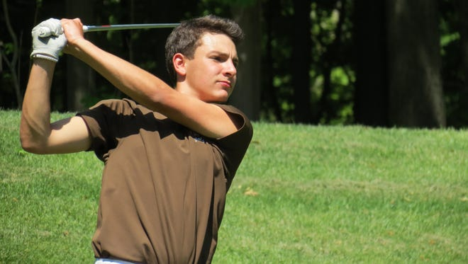 Garrett Koroghlian and Pascack Hills will vie for the State Group 2 golf title.