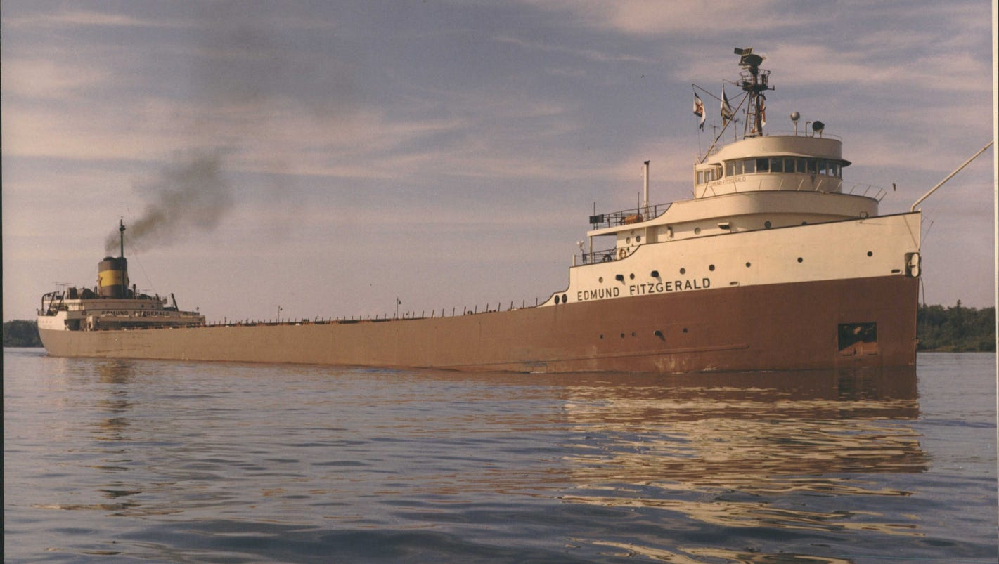 Edmund Fitzgerald Sinking 40 Years Later