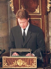Earl Spencer, Princess Diana's brother addresses the